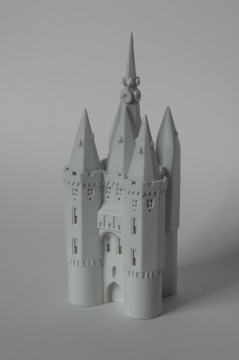 3D model schaalmodel sassenpoort pec zwolle