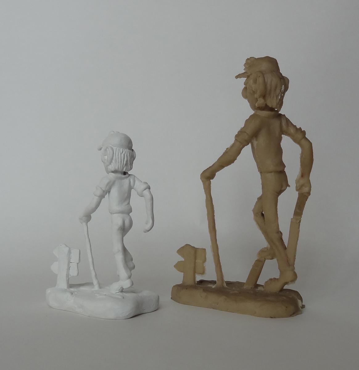 ulftse vierdaagseloper 3D schaalmodel beeldje