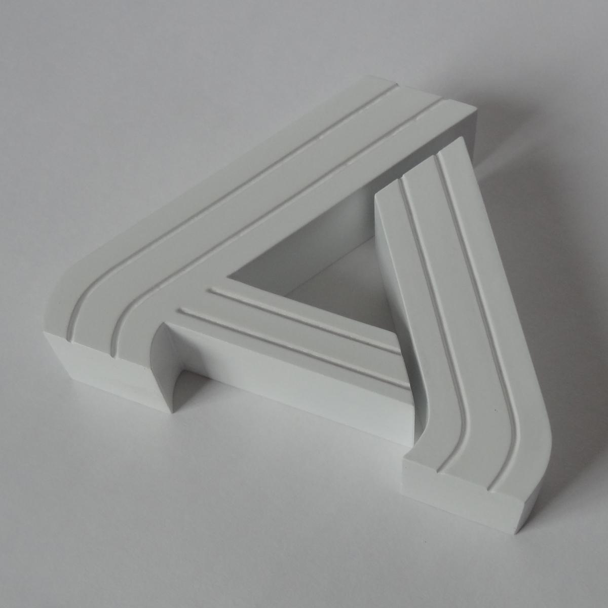 aldi logo 3d model print