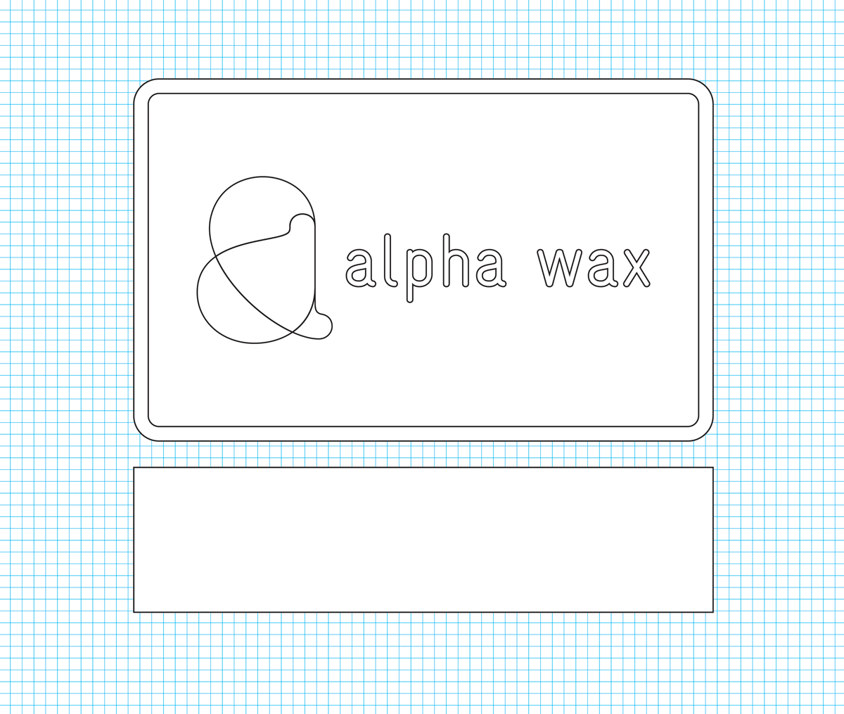 alpha wax parafine blok moedermodel mal