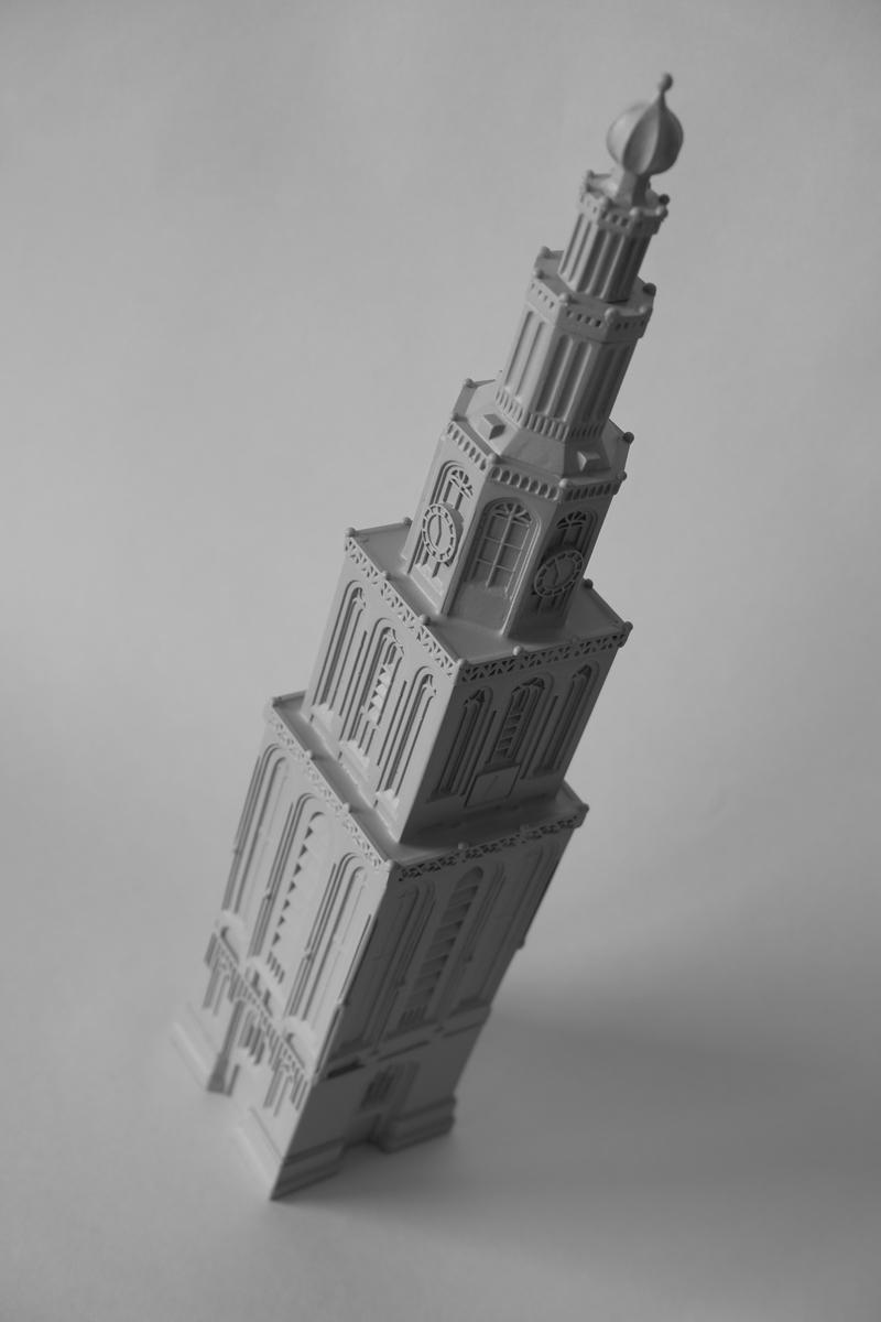 martinitoren groningen maquette 3d print